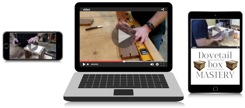 Dovetail Box Mastery Video Training Course